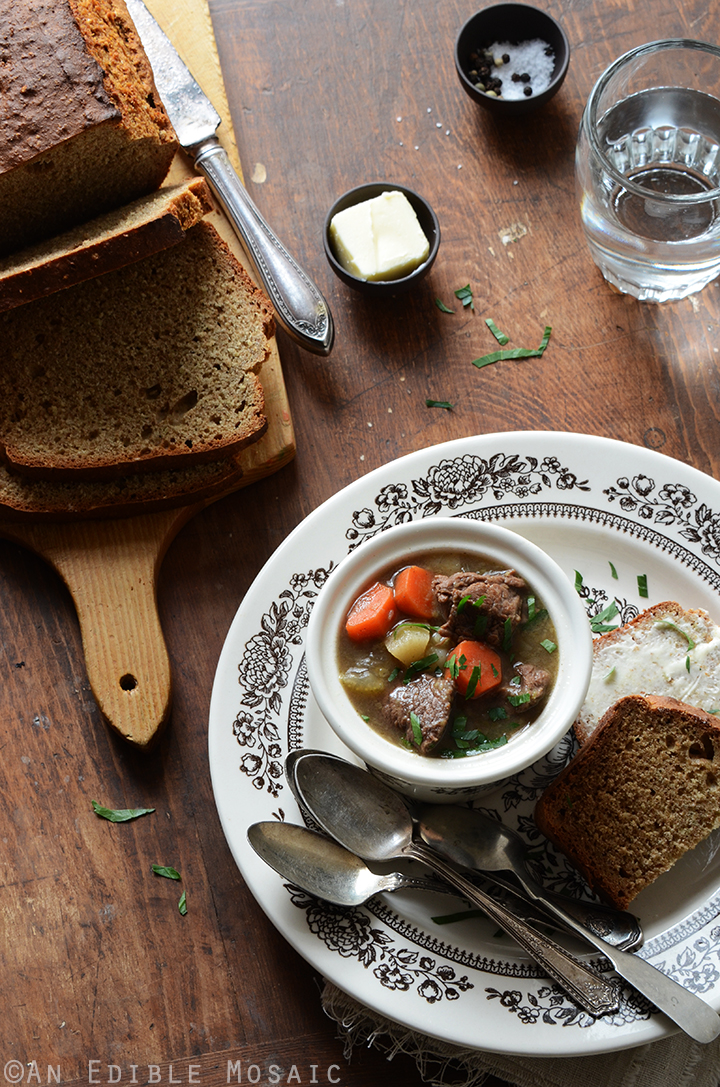 Guinness Beef Stew and Irish Brown Soda Bread 3