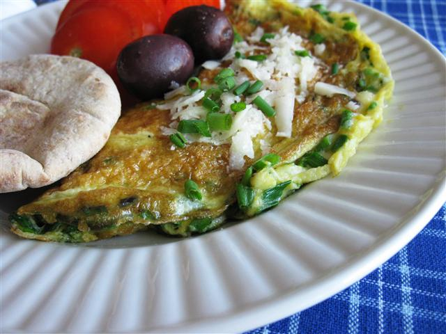 Greek-Inspired Omelet