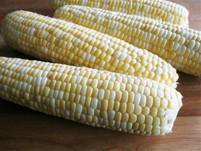 Roasted Corn with Indian-Spiced Yogurt Sauce