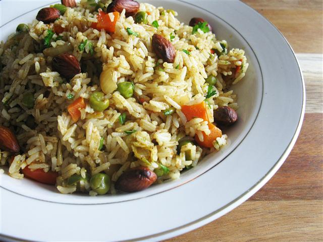Ramadan, Recipe for Pilaf-Style Biryani, & Giveaway Winner!