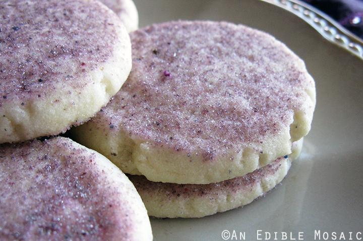 Lavender Shortbread Cookies 2