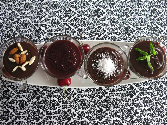 Dark Chocolate Custard