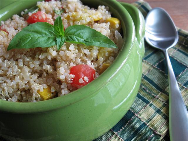 End of Summer Vegetable Quinoa