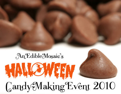 Announcements, Halloween Candy-Making Event, & How to Temper Chocolate