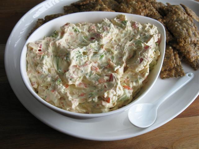 Vegetable Cream Cheese Dip