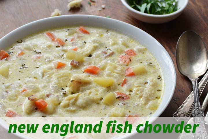 New England Fish Chowder with Description