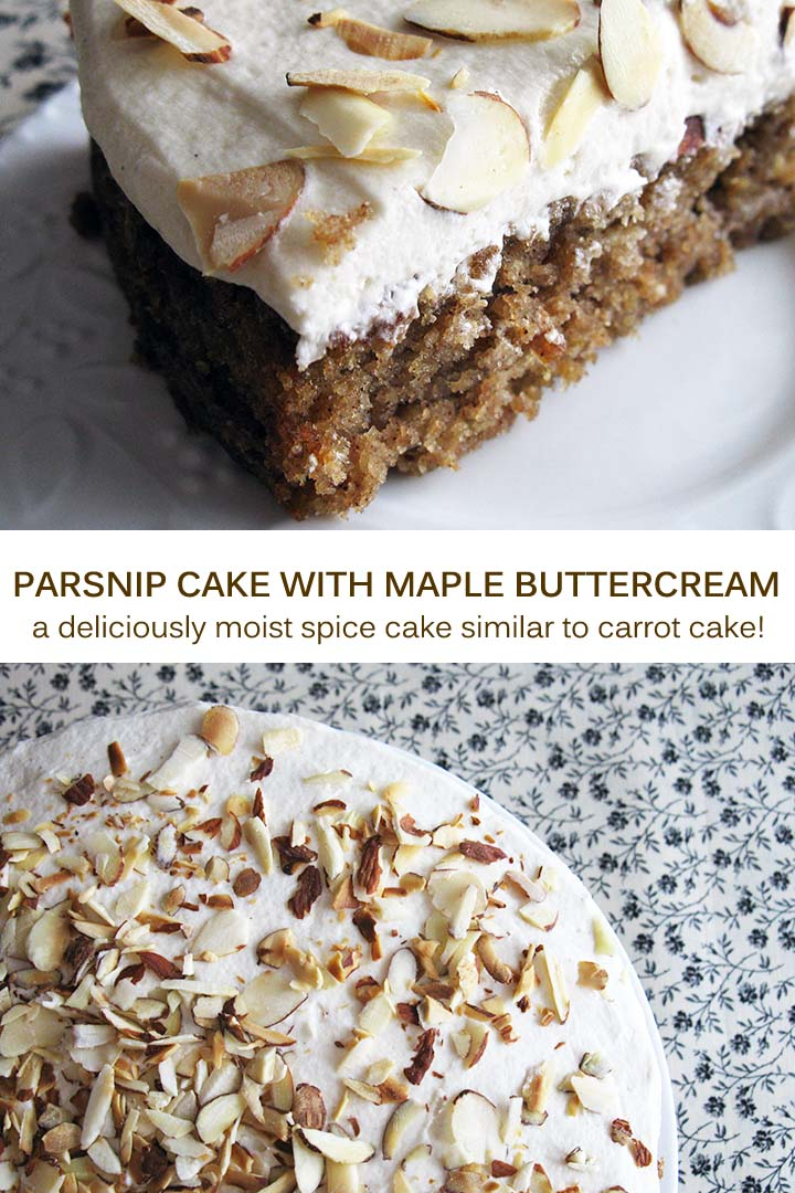 Parsnip Cake with Maple Buttercream Pin