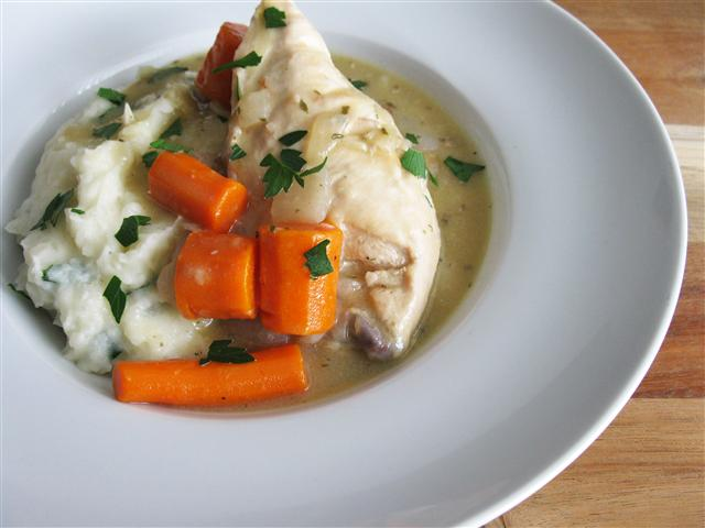 Chicken Stew with a French Flair
