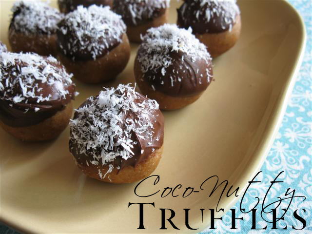 Raw Coco-Nutty Truffles — In the Raw…Daily Dessert Indulgences