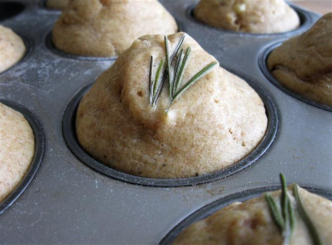 Savory Caramelized Onion, Feta, & Herb Muffins