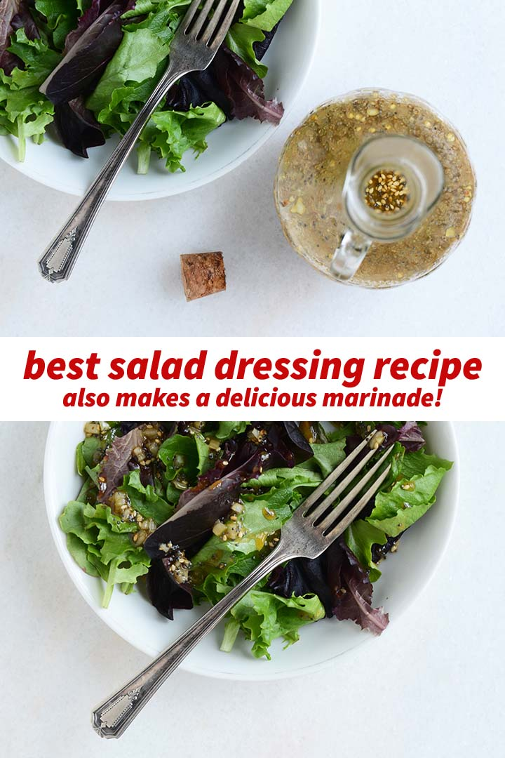 Best Salad Dressing Recipe Pin