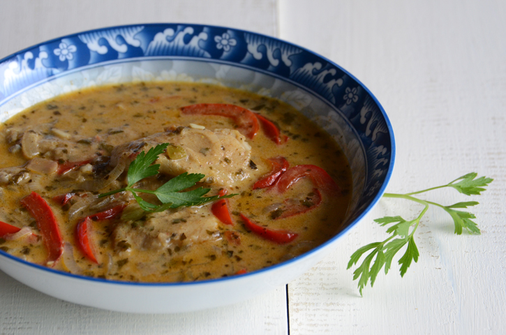 Quick & Easy Coconut Fish Curry