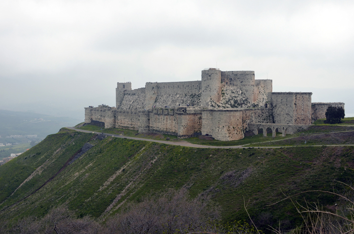 A Medieval Castle in Syria
