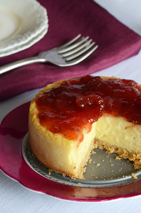 Greek Yogurt Cheesecake for Two 3