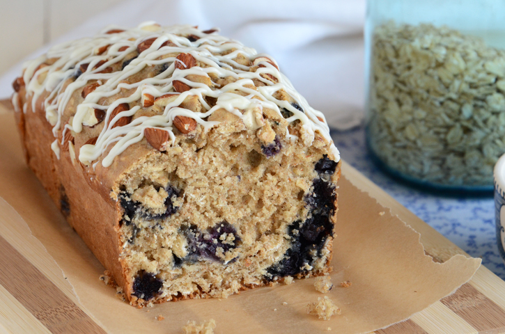 Blueberry-Oat Breakfast Loaf