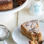 Apple-Pear Crumb Cake