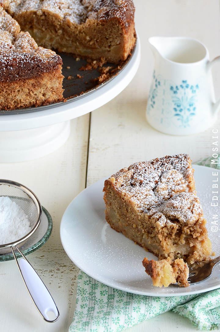 Apple-Pear Crumb Cake 1