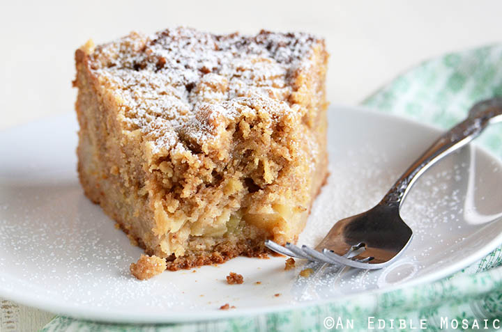 Apple-Pear Crumb Cake 2