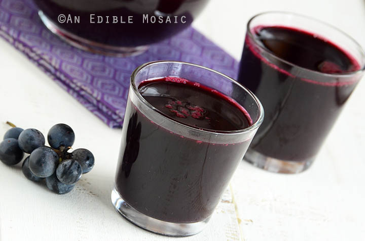 Homemade Concord Grape Juice 3