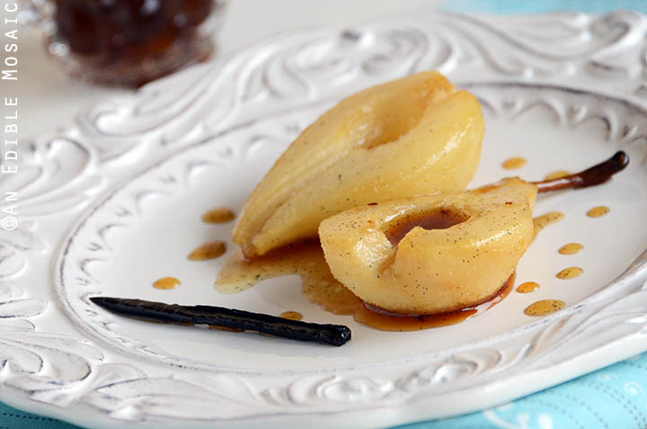 Vanilla Roasted Pears 3