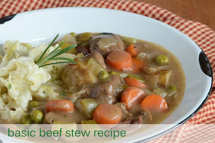 Basic Beef Stew Recipe with Description