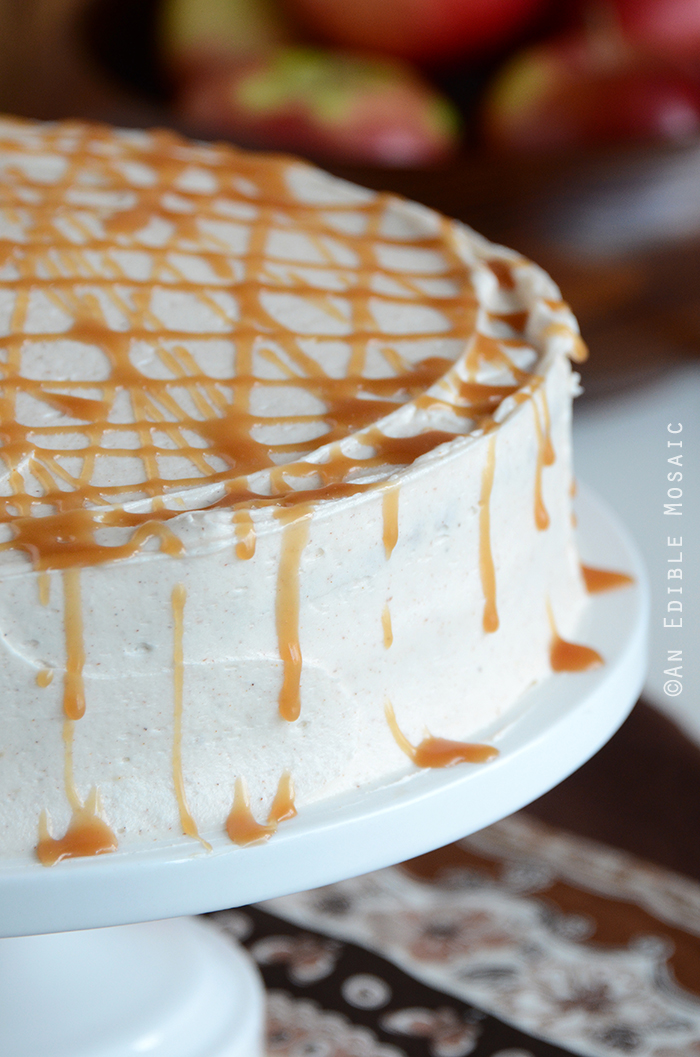 Caramel Apple Cake 3
