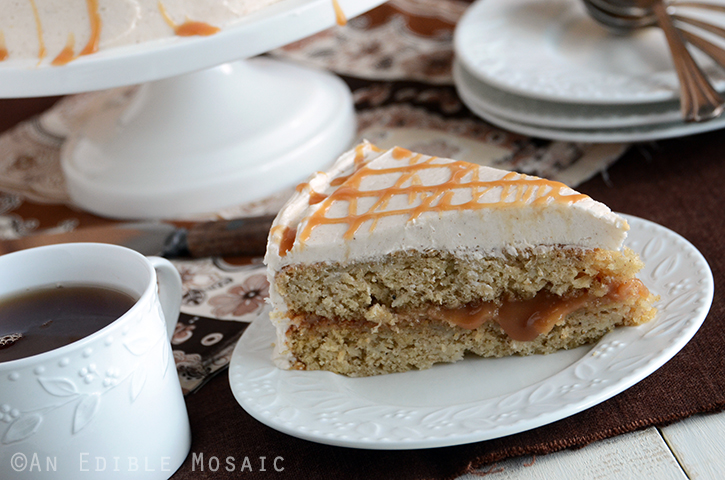 Caramel Apple Cake 4