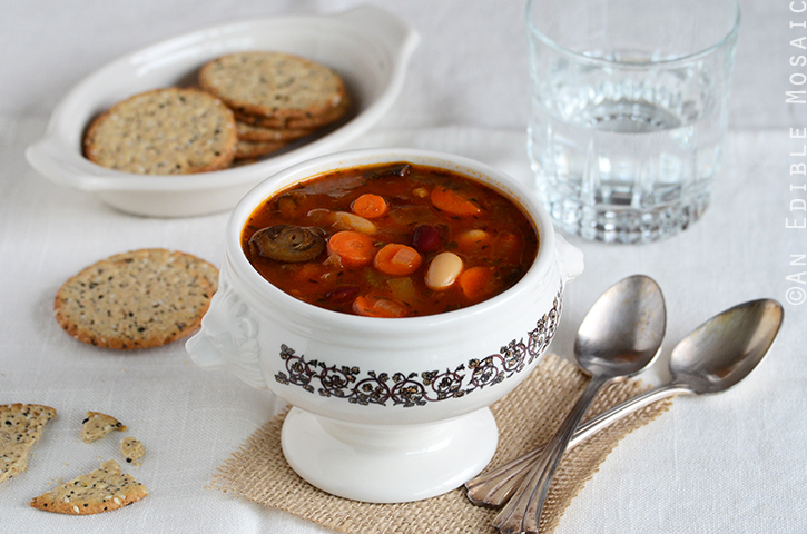 Two-Bean Vegetable Soup 3