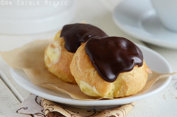 Cream Puffs (Profiteroles) 4