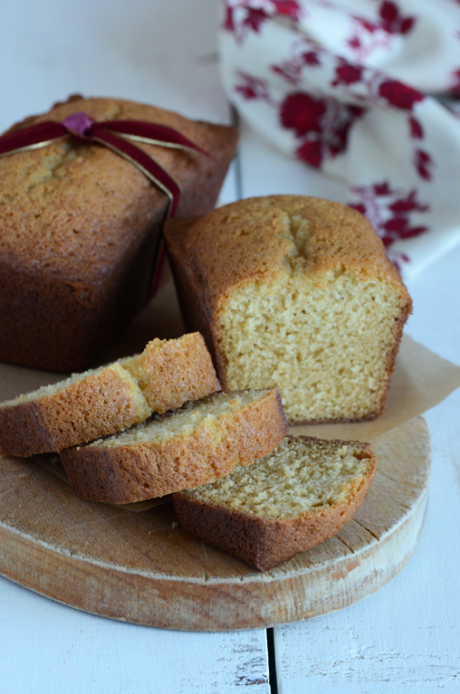 Butter-Rum Brown Sugar Cake
