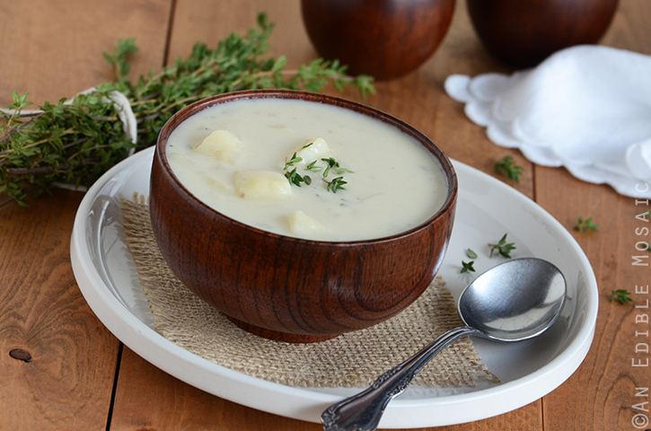 Creamy Potato Onion Soup 3