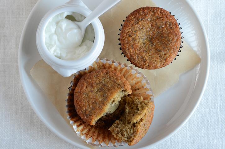 Honey-Nut Banana Muffins {Gluten-Free; Naturally Sweetened}