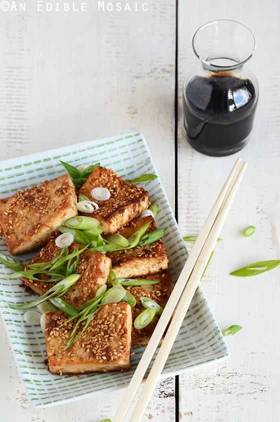Sesame-Crusted Tofu 2