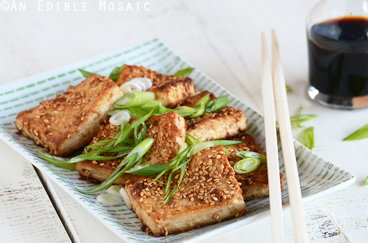 Sesame-Crusted Tofu 3