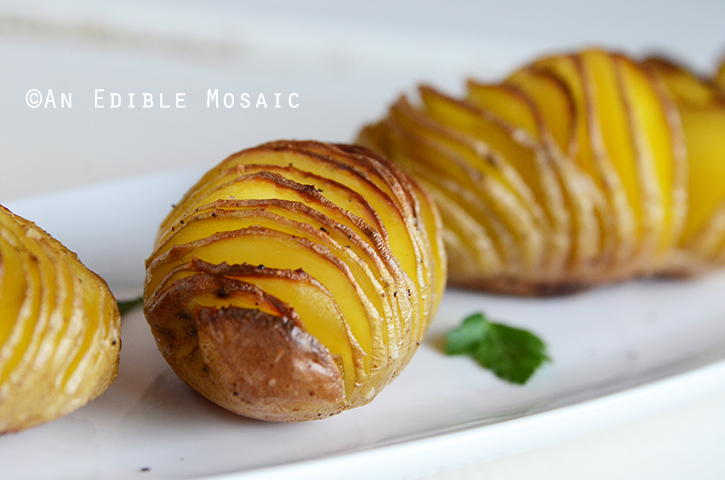 Baby Hasselback Potatoes 2