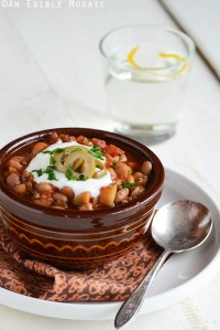 Chili, with a Spanish Flair
