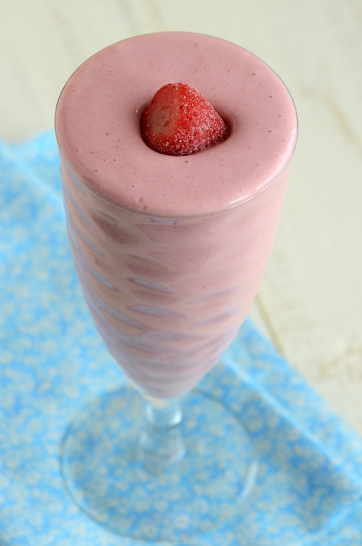 Strawberry-Vanilla Smoothie