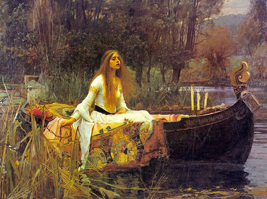 If the Lady of Shalott Were a Dish