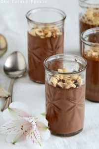 Chocolate-Hazelnut Custard