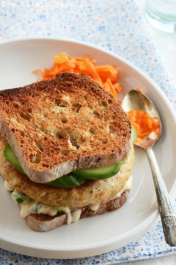 Shrimp Burgers with Scallion Mayo Recipe 1