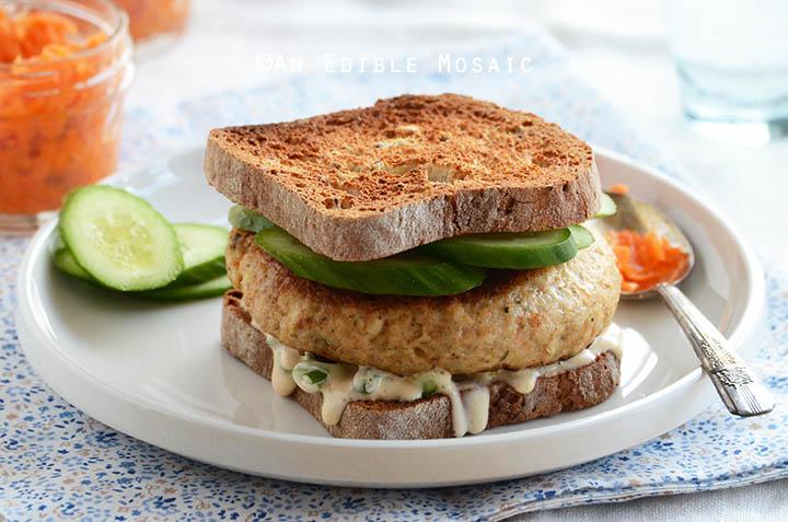 Shrimp Burgers with Scallion Mayo Recipe 3