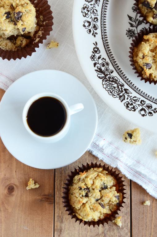 Coconut-Chocolate Chunk Muffins {Paleo}