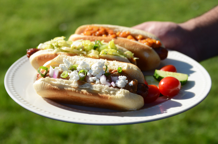 Hot Dogs, 3 Ways