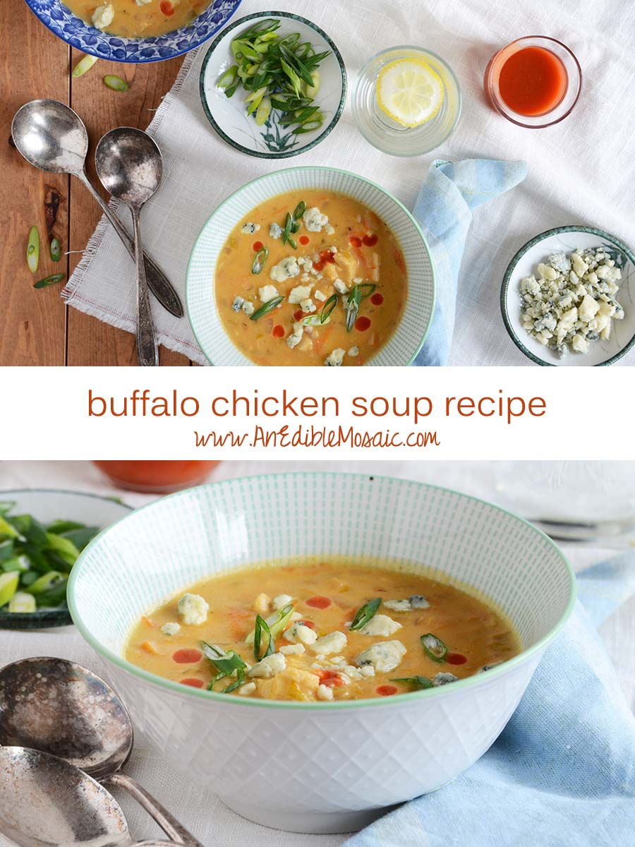 Buffalo Chicken Soup Recipe Pin