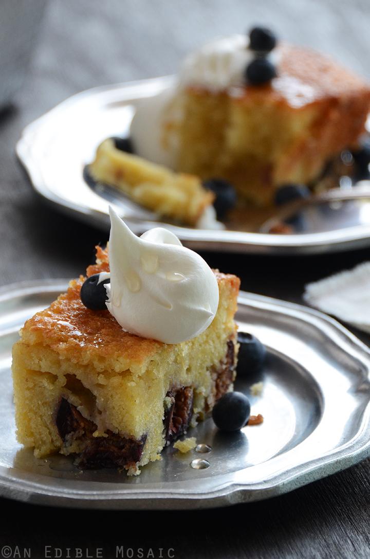 Vanilla-Fig Cornmeal Poundcake