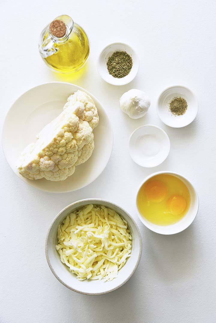 Cauliflower Breadsticks Ingredients