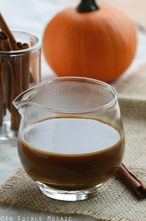 Sugar-Free Pumpkin Spice Syrup {For Lattes and More} 3