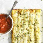cauliflower breadsticks featured image