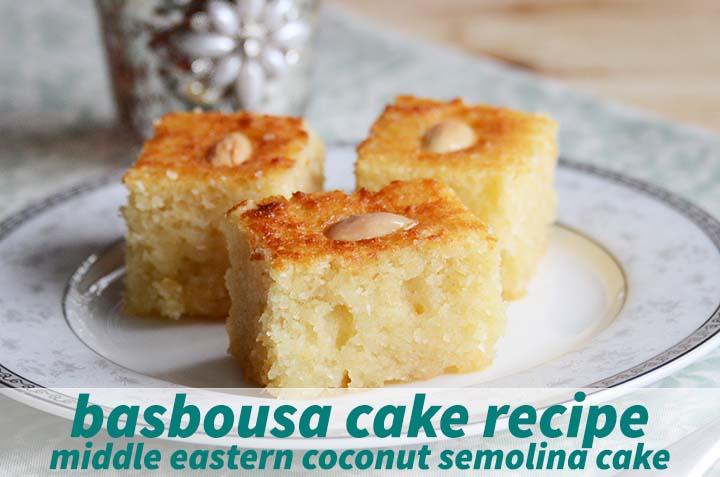 Basbousa Cake Recipe with Description