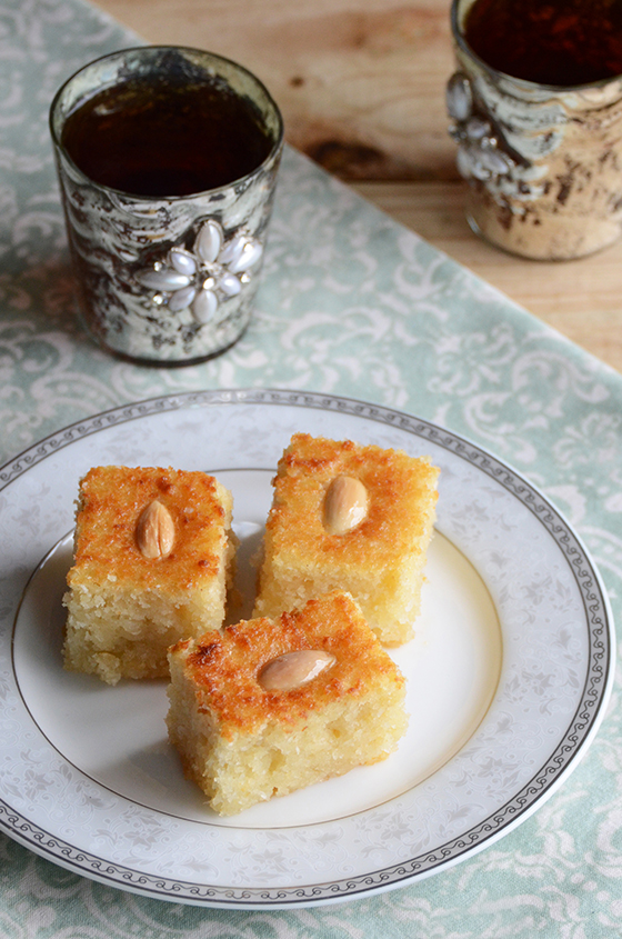 Coconut Semolina Cake(small)